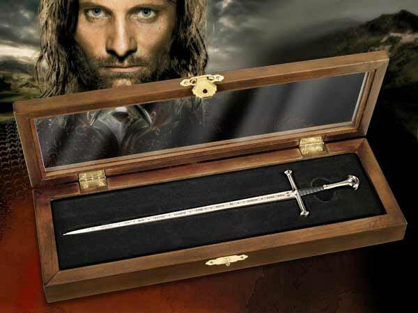 Anduril Miniaturka Miecza z filmu Władca Pierścieni - LOTR Letter Opener Anduril