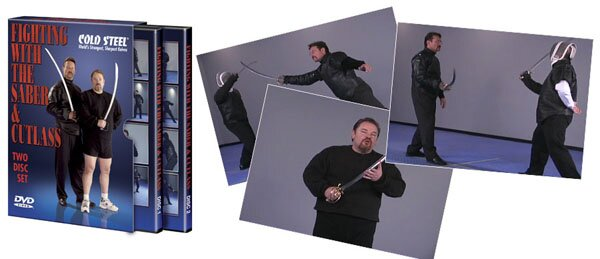 DVD Cold Steel Fighting With The Saber And Cutlass
