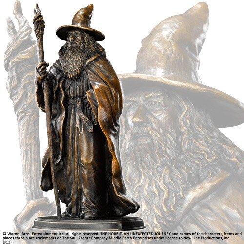Figurka Gandalfa z filmu Hobbit Noble Collection
