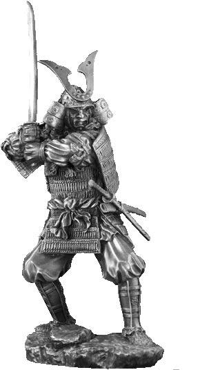 Figurka Samuraj Kagemusha - Les Etains Du Graal
