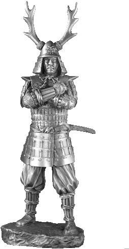 Figurka Samuraja XVII w - Les Etains Du Graal