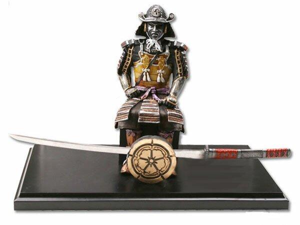 Figurka Samuraja z kataną do otwierania listów
