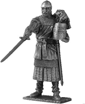 Figurka Urien - Rycerze Okrągłego Stołu - Les Etains Du Graal