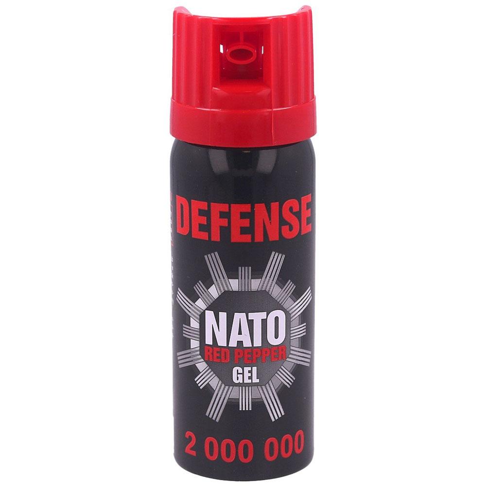 Gaz pieprzowy Sharg Defence Nato Gel Red 2mln SHU 50ml Cone