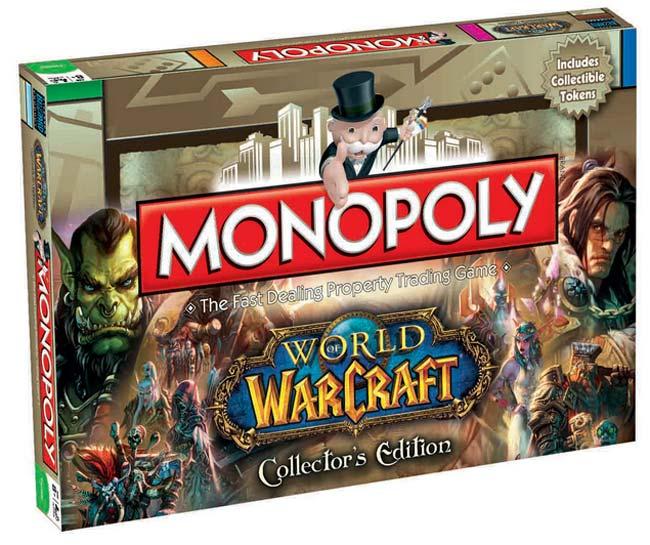 Gra Monopoly z gry World Of Warcraft - wersja angielska