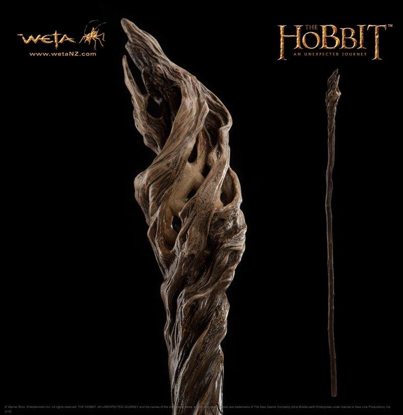 Hobbit - Kostur Gandalfa Szarego - Weta Staff of Gandalf the Grey