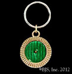 Hobbit Brelok z Brązu - Bronze Bag End Door Key Chain