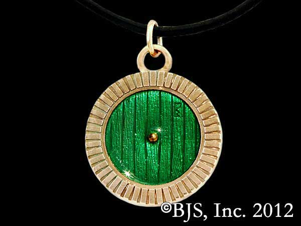Hobbit Wisiorek Bronze Bag End Door Necklace