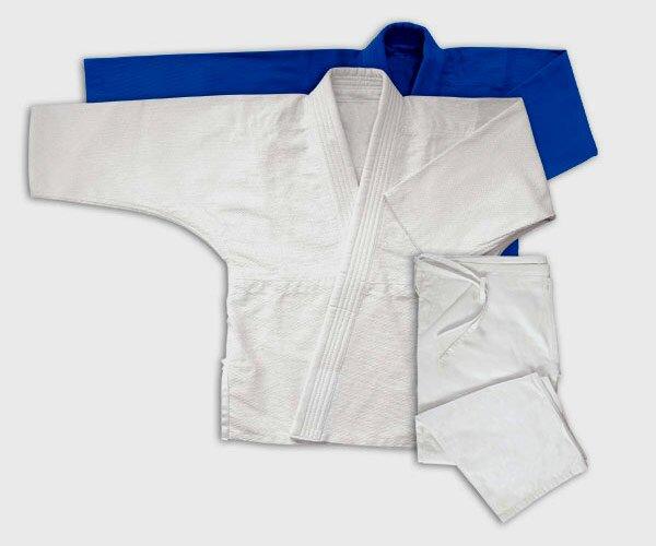Jiu Jitsu Gi Niebieskie Podwójna Plecionka 17oz - Kimono do Jiu-jitsu