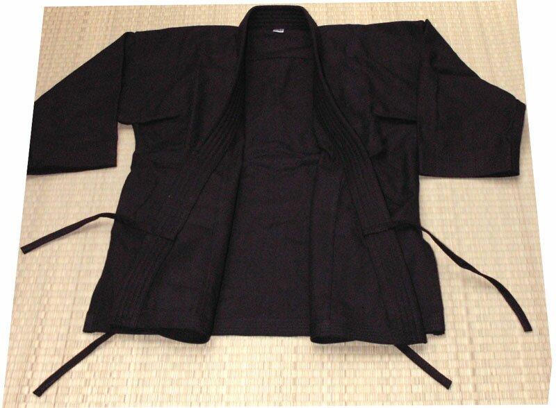 Karategi czarne 12oz - Kimono do karate