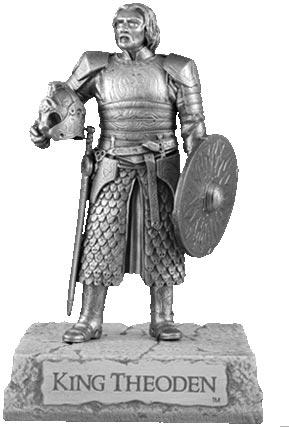LOTR Figurka Król Theoden - Les Etains Du Graal