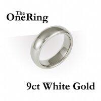One Ring - białe złoto 9 karat