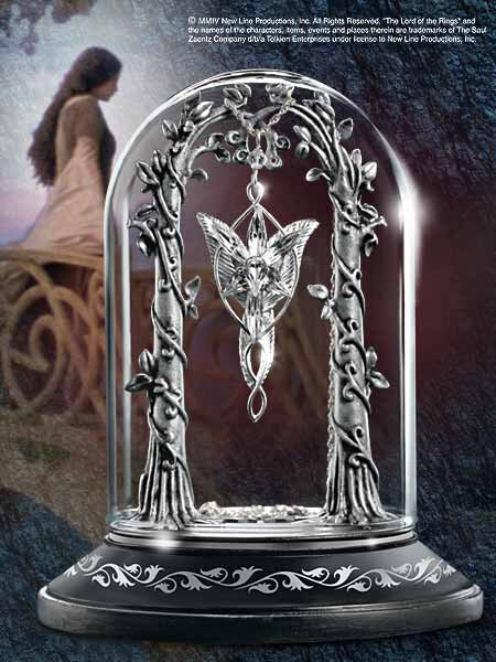Stojak na wisiorek Arweny - Lord of the Rings Display for the Evenstar Pendant