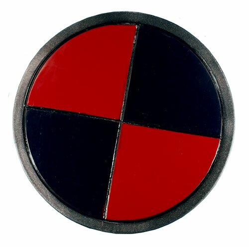 Tarcza Epic Armoury RFB Shield - Red - Black