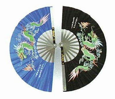 Wachlarz do Kung Fu - Dragon design