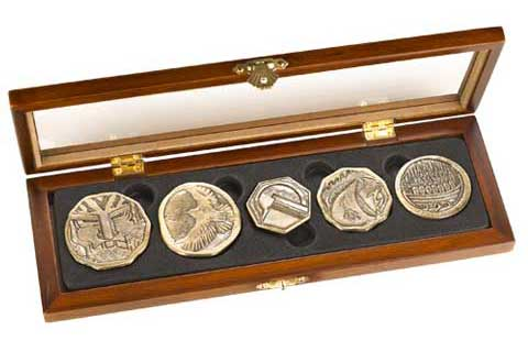 Zestaw krasnoludzkich monet Dwarven Treasure Coin Set